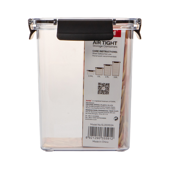 AIRTIGHE STORAGE CONTAINERS 1.9L