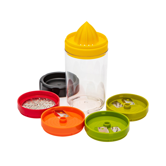 Multi-use & Handy Spiral Slicer(5-in-1)